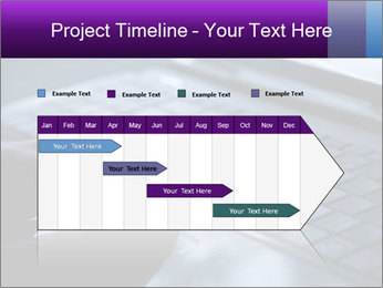 Using a laptop PowerPoint Template - Slide 25