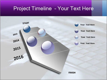 Using a laptop PowerPoint Template - Slide 26