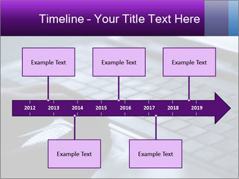 Using a laptop PowerPoint Template - Slide 28