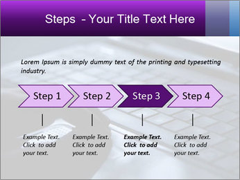 Using a laptop PowerPoint Template - Slide 4
