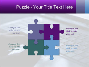 Using a laptop PowerPoint Template - Slide 43