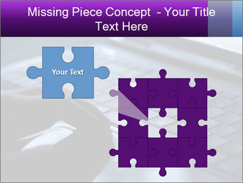 Using a laptop PowerPoint Template - Slide 45
