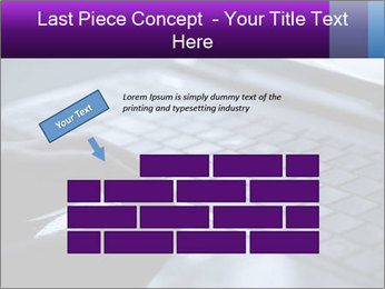 Using a laptop PowerPoint Template - Slide 46