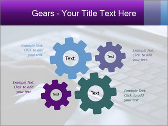Using a laptop PowerPoint Template - Slide 47