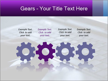 Using a laptop PowerPoint Template - Slide 48