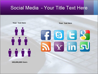 Using a laptop PowerPoint Template - Slide 5