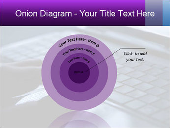 Using a laptop PowerPoint Template - Slide 61