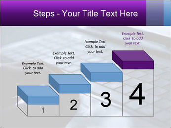 Using a laptop PowerPoint Template - Slide 64