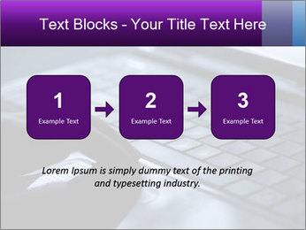 Using a laptop PowerPoint Template - Slide 71