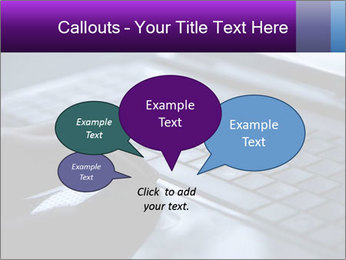 Using a laptop PowerPoint Template - Slide 73
