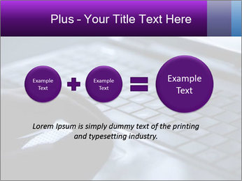Using a laptop PowerPoint Template - Slide 75