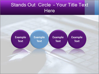 Using a laptop PowerPoint Template - Slide 76