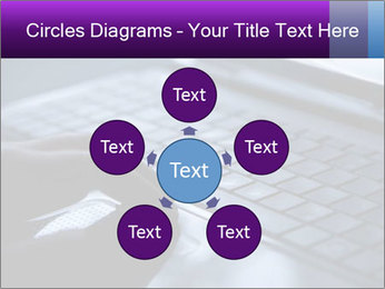 Using a laptop PowerPoint Template - Slide 78