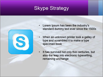Using a laptop PowerPoint Template - Slide 8