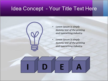Using a laptop PowerPoint Template - Slide 80