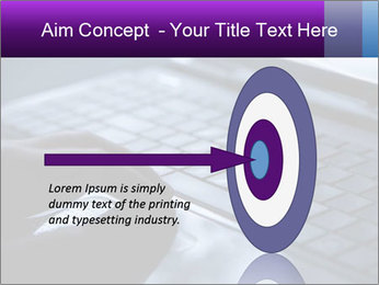 Using a laptop PowerPoint Template - Slide 83