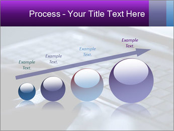 Using a laptop PowerPoint Template - Slide 87