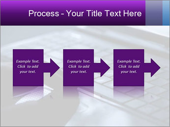 Using a laptop PowerPoint Template - Slide 88