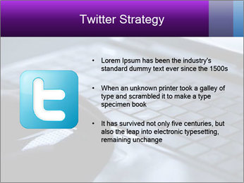 Using a laptop PowerPoint Template - Slide 9