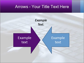 Using a laptop PowerPoint Template - Slide 90