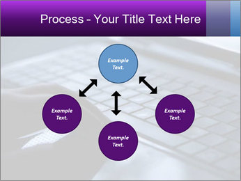 Using a laptop PowerPoint Template - Slide 91