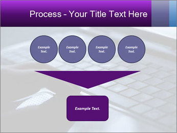Using a laptop PowerPoint Template - Slide 93