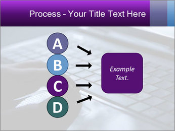Using a laptop PowerPoint Template - Slide 94