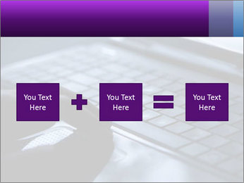 Using a laptop PowerPoint Template - Slide 95