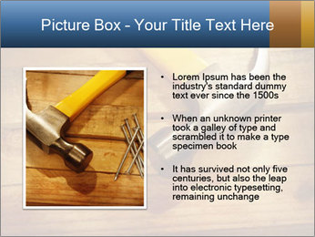 Hammer nails PowerPoint Template - Slide 13