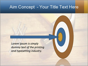 Hammer nails PowerPoint Templates - Slide 83