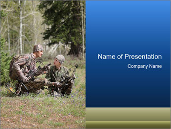 Father and son PowerPoint Template - Slide 1