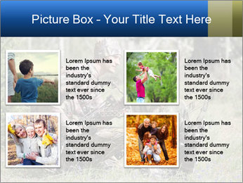 Father and son PowerPoint Templates - Slide 14