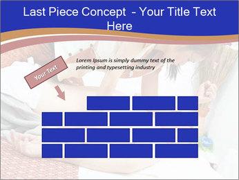 Traditional thai massage PowerPoint Template - Slide 46