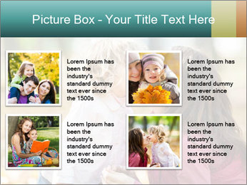 Happy smiling family PowerPoint Template - Slide 14