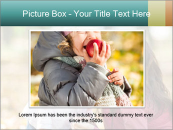 Happy smiling family PowerPoint Template - Slide 15