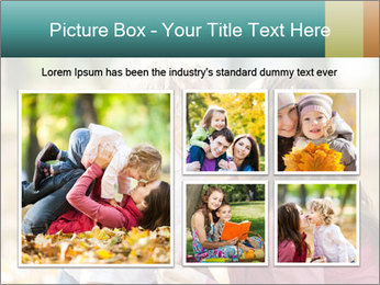 Happy smiling family PowerPoint Template - Slide 19