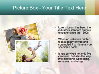 Happy smiling family PowerPoint Template - Slide 20