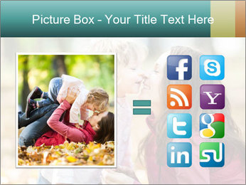 Happy smiling family PowerPoint Template - Slide 21