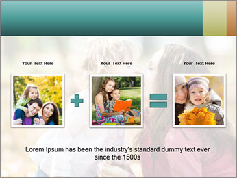 Happy smiling family PowerPoint Template - Slide 22