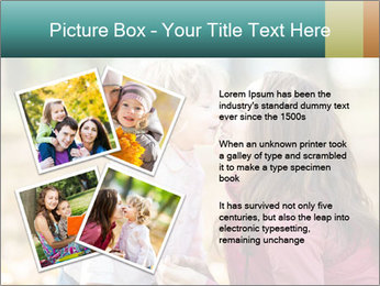 Happy smiling family PowerPoint Template - Slide 23