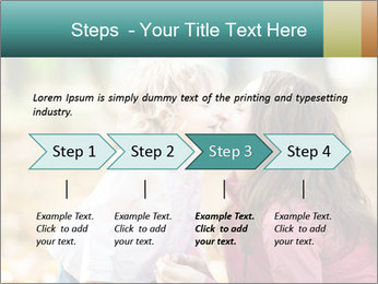 Happy smiling family PowerPoint Template - Slide 4