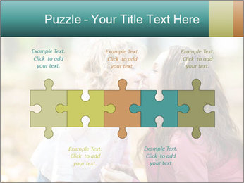 Happy smiling family PowerPoint Template - Slide 41