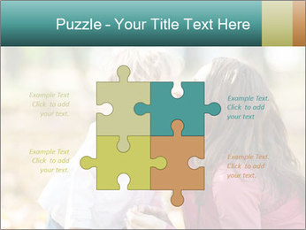 Happy smiling family PowerPoint Template - Slide 43
