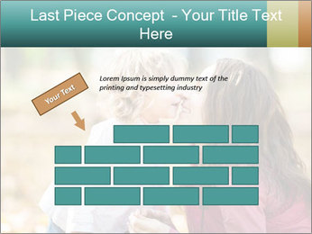 Happy smiling family PowerPoint Template - Slide 46