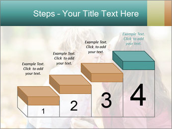 Happy smiling family PowerPoint Template - Slide 64