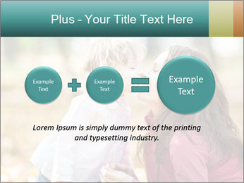Happy smiling family PowerPoint Template - Slide 75