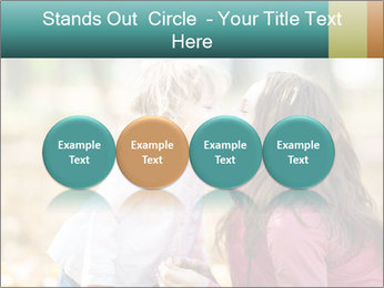 Happy smiling family PowerPoint Template - Slide 76