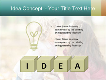 Happy smiling family PowerPoint Template - Slide 80