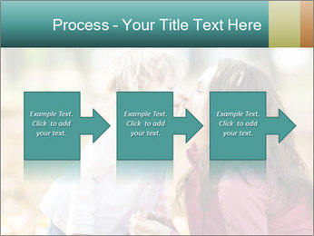 Happy smiling family PowerPoint Template - Slide 88