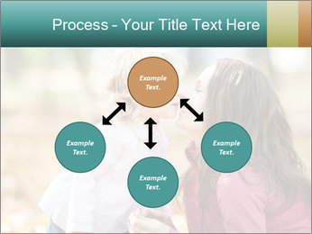 Happy smiling family PowerPoint Template - Slide 91